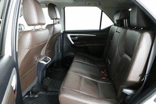 2015 Toyota Fortuner GUN156R Crusade White 6 Speed Manual Wagon