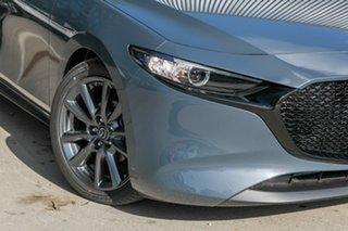 2020 Mazda 3 BP2H7A G20 SKYACTIV-Drive Touring Polymetal Grey 6 Speed Sports Automatic Hatchback.