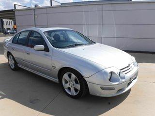 2002 Ford Falcon AU III XR6 VCT Silver 4 Speed Automatic Sedan.