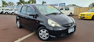 2007 Honda Jazz GD GLi Black 1 Speed Constant Variable Hatchback.