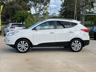 2013 Hyundai ix35 Highlander White Sports Automatic Wagon