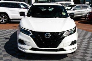 2021 Nissan Qashqai J11 Series 3 MY20 Midnight Edition X-tronic Ivory Pearl 1 Speed.
