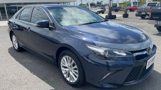 2015 Toyota Camry ASV50R Atara SL Blue 6 Speed Sports Automatic Sedan.
