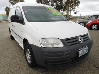 2008 Volkswagen Caddy 2KN Maxi White 5 Speed Manual Van