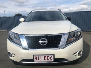 2015 Nissan Pathfinder R52 MY15 ST-L X-tronic 2WD White 1 Speed Constant Variable Wagon