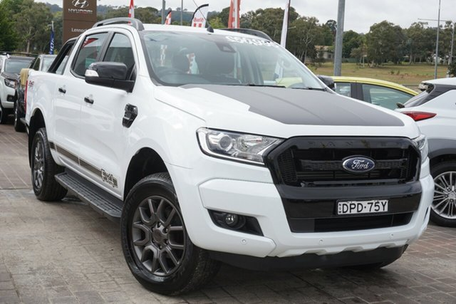 Used Ford Ranger PX MkII FX4 Double Cab Phillip, 2017 Ford Ranger PX MkII FX4 Double Cab White 6 Speed Sports Automatic Utility