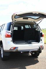 2015 Isuzu MU-X UC MY15 LS-U (4x2) White 5 Speed Automatic Wagon