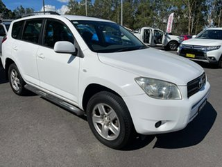 2007 Toyota RAV4 ACA33R CV White 4 Speed Automatic Wagon.