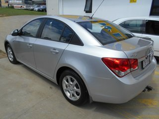 2010 Holden Cruze JG CD Silver 6 Speed Sports Automatic Sedan