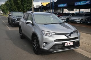 2016 Toyota RAV4 ZSA42R MY16 GXL (2WD) Silver Continuous Variable Wagon.