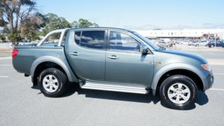 2008 Mitsubishi Triton ML MY09 GLX-R Double Cab Grey 4 Speed Automatic Utility.