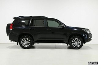 2019 Toyota Landcruiser Prado GDJ150R Kakadu (4x4) Black 6 Speed Automatic Wagon