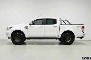 2015 Ford Ranger PX MkII XLT 3.2 (4x4) White 6 Speed Manual Double Cab Pick Up