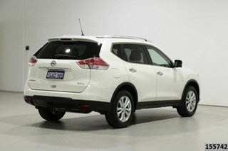2016 Nissan X-Trail T32 ST-L 7 Seat (FWD) White Continuous Variable Wagon