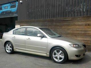 2005 Mazda 3 BK10F1 Maxx Sport Silver 4 Speed Sports Automatic Sedan.