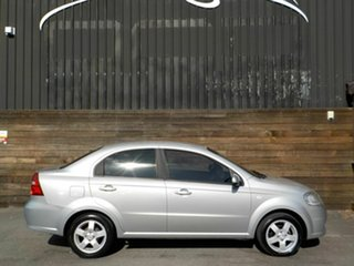 2007 Holden Barina TK MY08 Silver 4 Speed Automatic Sedan.