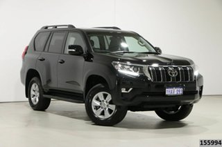 2020 Toyota Landcruiser Prado GDJ150R MY18 GXL (4x4) Black 6 Speed Automatic Wagon.