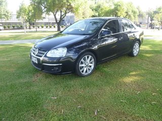 2010 Volkswagen Jetta 1KM 118TSI Black Sports Automatic Dual Clutch Sedan