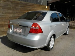 2007 Holden Barina TK MY08 Silver 4 Speed Automatic Sedan