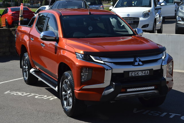 Used Mitsubishi Triton MR MY20 Toby Price Edition Double Cab Maitland, 2019 Mitsubishi Triton MR MY20 Toby Price Edition Double Cab Orange 6 Speed Sports Automatic Utility