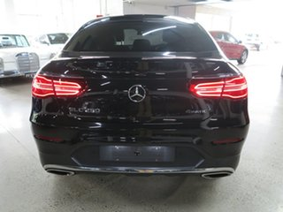 2018 Mercedes-Benz GLC-Class C253 808MY GLC250 Coupe 9G-Tronic 4MATIC Black 9 Speed Sports Automatic