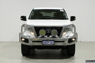 2017 Toyota Landcruiser GDJ150R MY17 Prado GX 7 Seat (4x4) White 6 Speed Automatic Wagon.