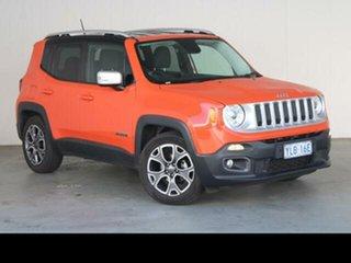 2016 Jeep Renegade BU Limited 6 Speed Auto Dual Clutch Wagon