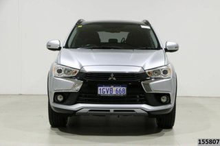 2017 Mitsubishi ASX XC MY17 XLS (2WD) Silver Continuous Variable Wagon.