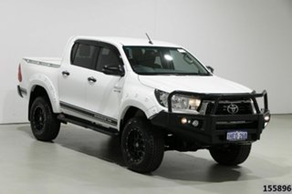 2019 Toyota Hilux GUN126R MY19 Upgrade SR (4x4) White 6 Speed Automatic Double Cab Pick Up