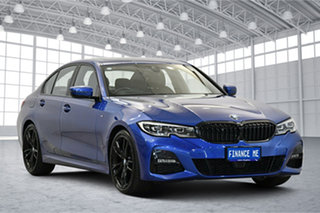 2019 BMW 3 Series G20 320d Steptronic M Sport Blue 8 Speed Sports Automatic Sedan.
