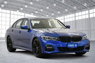 2019 BMW 3 Series G20 320d Steptronic M Sport Blue 8 Speed Sports Automatic Sedan.