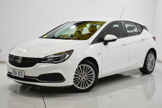 Used Holden Astra BK MY18.5 R Brooklyn, 2018 Holden Astra BK MY18.5 R White 6 Speed Sports Automatic Hatchback