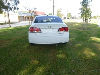 2009 Honda Civic 8th Gen Hybrid White Constant Variable Sedan