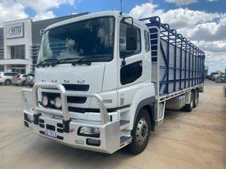2013 Mitsubishi FV500 FV500 Truck Stock/Cattle crate.