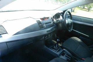 2010 Mitsubishi Lancer CJ MY10 Activ Blue 5 Speed Manual Sedan