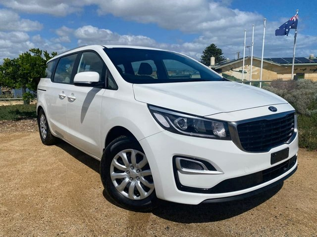 Used Kia Carnival YP MY19 S Christies Beach, 2019 Kia Carnival YP MY19 S White 8 Speed Sports Automatic Wagon