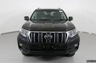2018 Toyota Landcruiser GDJ150R MY18 Prado GXL (prem Int) (4x4) Black 6 Speed Automatic Wagon.