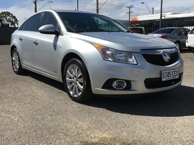 Used Holden Cruze JH Series II MY14 Z Series Blair Athol, 2014 Holden Cruze JH Series II MY14 Z Series Silver 6 Speed Sports Automatic Sedan