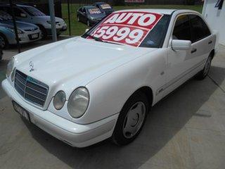1997 Mercedes-Benz E-Class W210 E230 Classic White 5 Speed Automatic Sedan.
