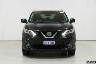 2016 Nissan Qashqai J11 TI Black Continuous Variable Wagon.