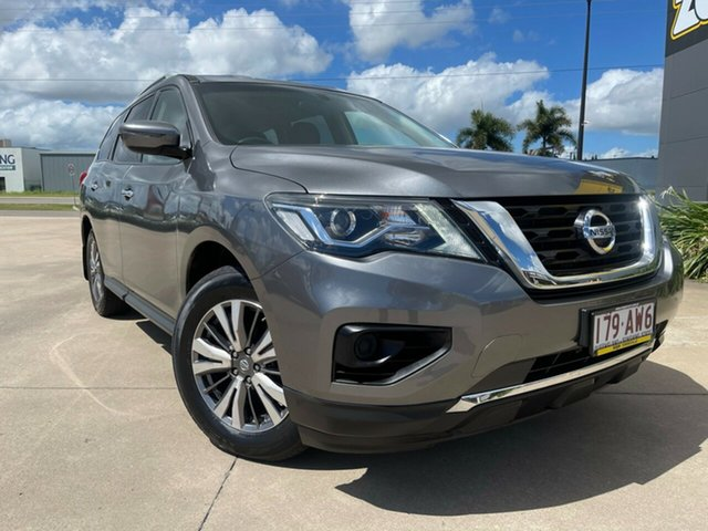 Used Nissan Pathfinder R52 Series III MY19 ST X-tronic 2WD Townsville, 2018 Nissan Pathfinder R52 Series III MY19 ST X-tronic 2WD Grey/300419 1 Speed Constant Variable