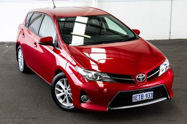 Pre-Owned Toyota Corolla ZRE182R Ascent Sport Rockingham, 2015 Toyota Corolla ZRE182R Ascent Sport Wildfire 6 Speed Manual Hatchback