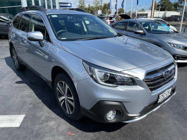 Demo Subaru Outback B6A MY20 2.5i CVT AWD Glenelg, 2020 Subaru Outback B6A MY20 2.5i CVT AWD Ice Silver 7 Speed Constant Variable Wagon