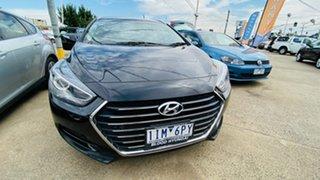 2016 Hyundai i40 VF4 Series II Premium Tourer D-CT Black 7 Speed Sports Automatic Dual Clutch Wagon.
