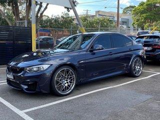 2016 BMW M3 F80 30 Years Edition Macau Blue 7 Speed Auto Dual Clutch Sports Sedan
