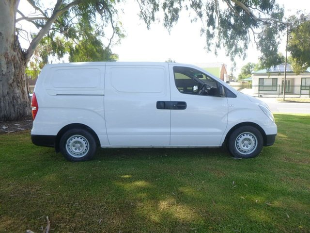 Used Hyundai iLOAD Beverley, 2014 Hyundai iLOAD TQ2-V White Manual Van