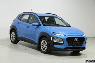 2019 Hyundai Kona OS.2 MY19 GO (FWD) Blue 6 Speed Automatic Wagon