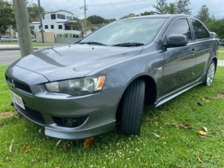 2007 Mitsubishi Lancer CJ MY08 VR-X Grey 6 Speed Constant Variable Sedan.