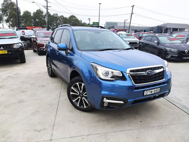 Used Subaru Forester S4 MY16 2.0D-S CVT AWD Liverpool, 2016 Subaru Forester S4 MY16 2.0D-S CVT AWD Blue 7 Speed Constant Variable Wagon