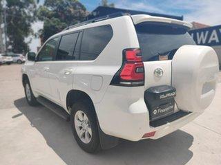 Toyota Landcruiser Prado GXL White Sports Automatic Wagon